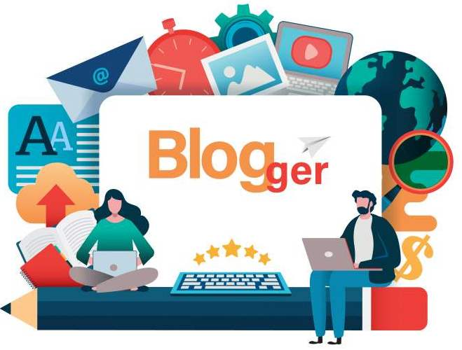 Blogging, blogger freelance