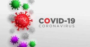 Covid coronavirus in real 3d illustration concept