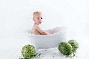 baby-bath-watermelons