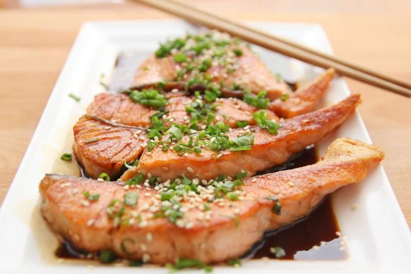 food-salmon-teriyaki-fish-eat