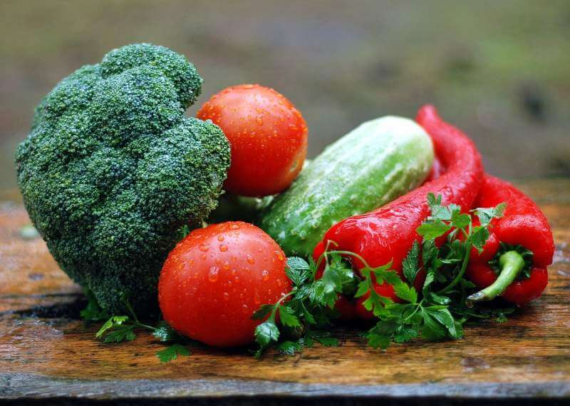 vegetables-water-droplets-fresh